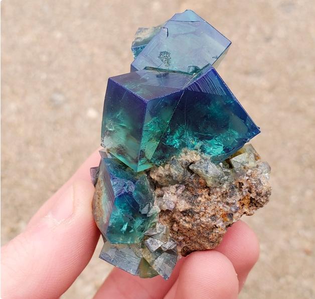 Fancy Blue Mineral